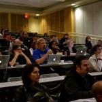 Dev track crowd