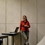 Jill Binder moderating the BuddyCamp Panel